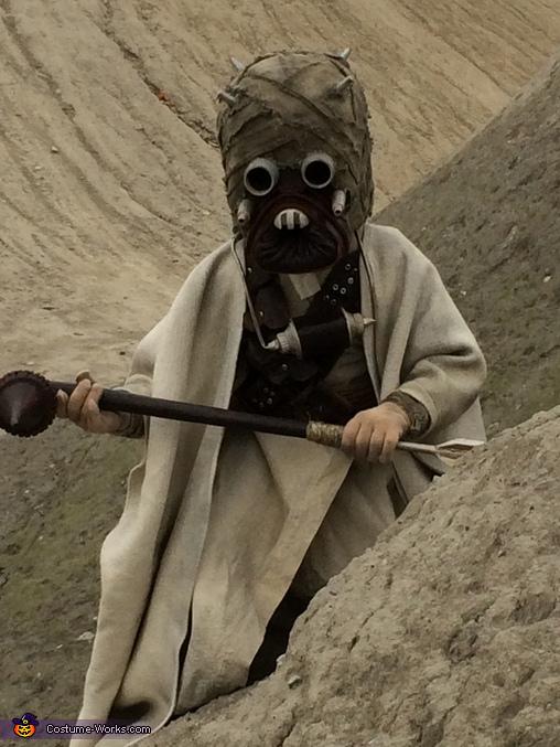 Star Wars Tusken Raider Homemade Costume