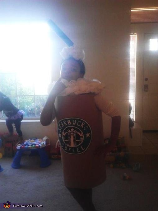Homemade Starbucks Costume
