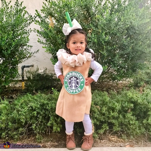 The sweetest and cutest frappuccino, Starbucks Baristas and Caramel Frap Costume