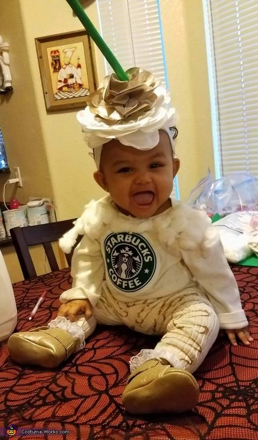 Starbucks Carmel Frap Costume