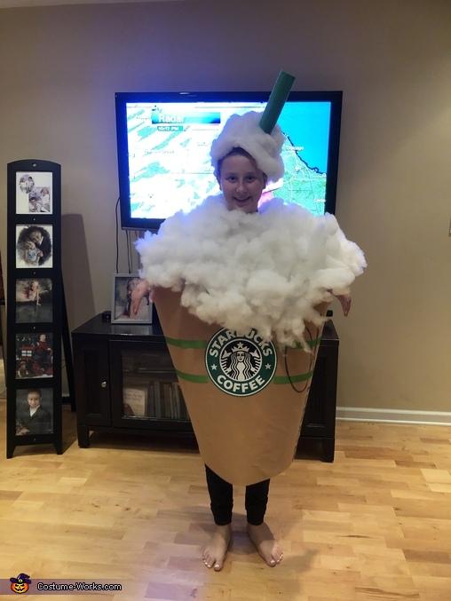 Starbucks Drink Homemade Costume