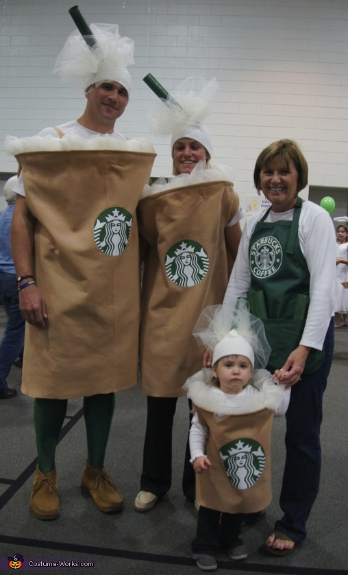 DIY Starbucks Family Costume