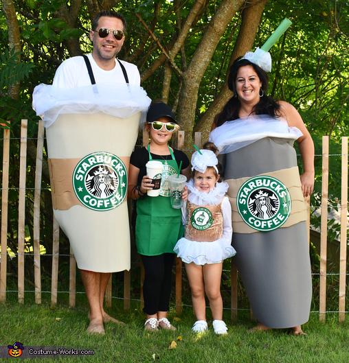 Starbucks Family Costume