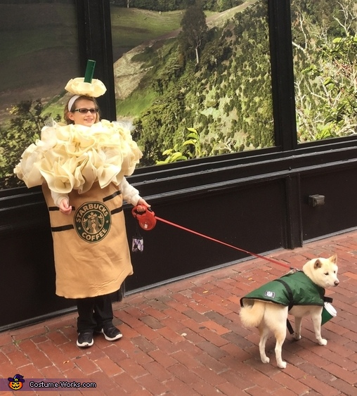 Starbucks Frappuccino & the Barista Costume