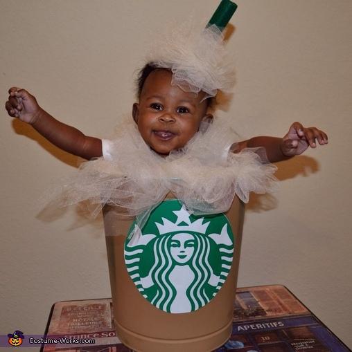 Starbucks Mocha Frappuccino Costume