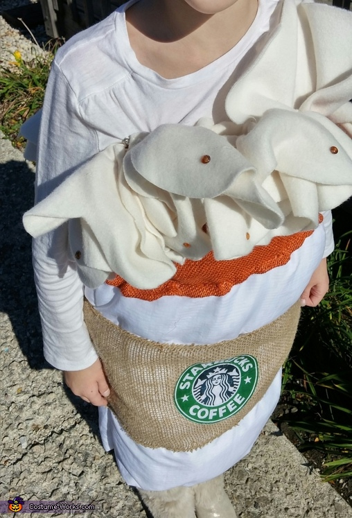 Starbucks Pumpkin Spice Homemade Costume