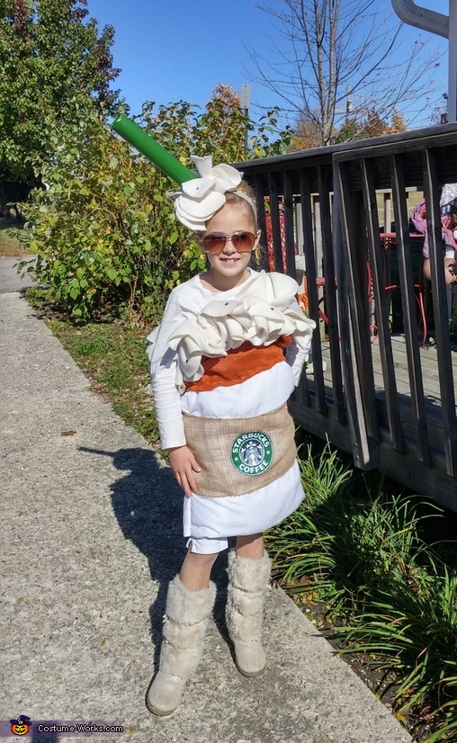 Starbucks Pumpkin Spice Costume