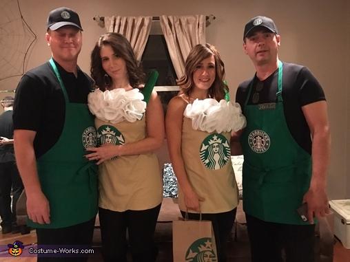 Starbucks Team Costume