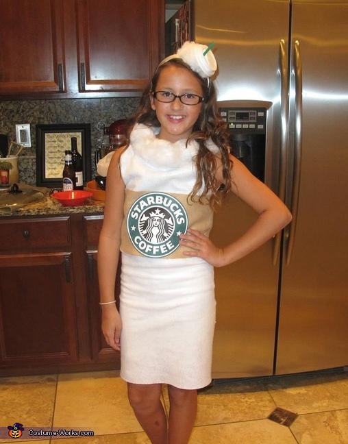 Starbucks Vanilla Latte Costume