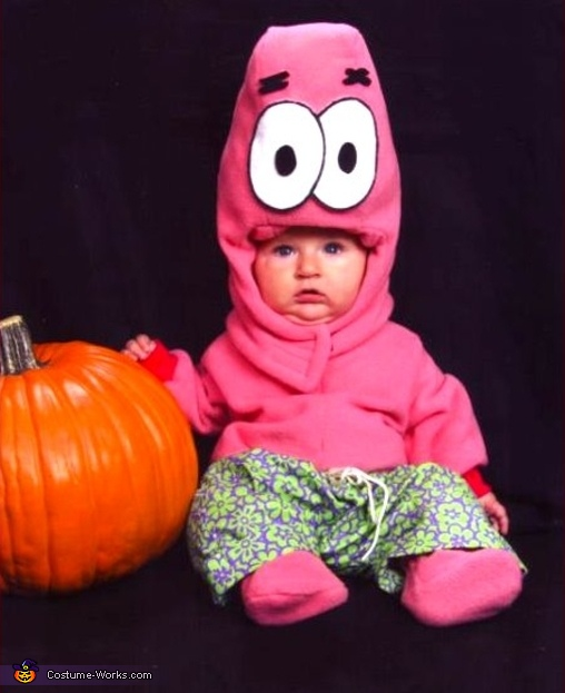 Patrick Star - Homemade costumes for babies