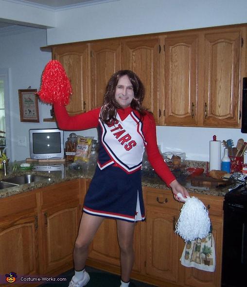 STARS Cheerleader Costume