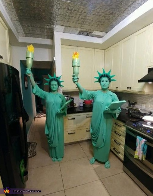 Statue of Liberty Homemade Costume