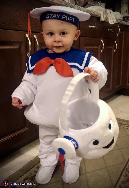 Stay-Puft Marshmallow Man Costume