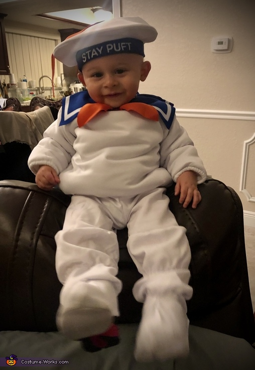 Mikie's Costume #10, Stay-Puft Marshmallow Man Costume
