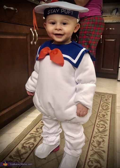 Mikie's Costume #2, Stay-Puft Marshmallow Man Costume