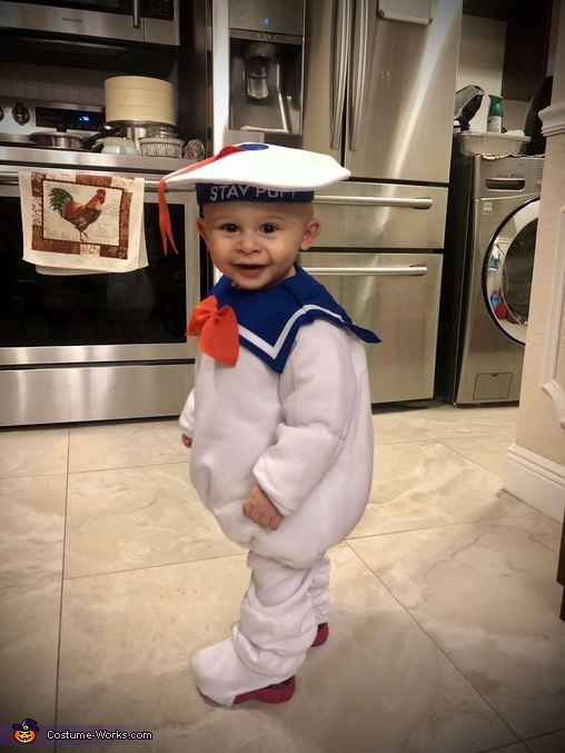 Mikie's Costume #4, Stay-Puft Marshmallow Man Costume