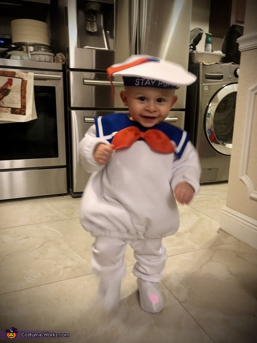 Mikie's Costume #6, Stay-Puft Marshmallow Man Costume