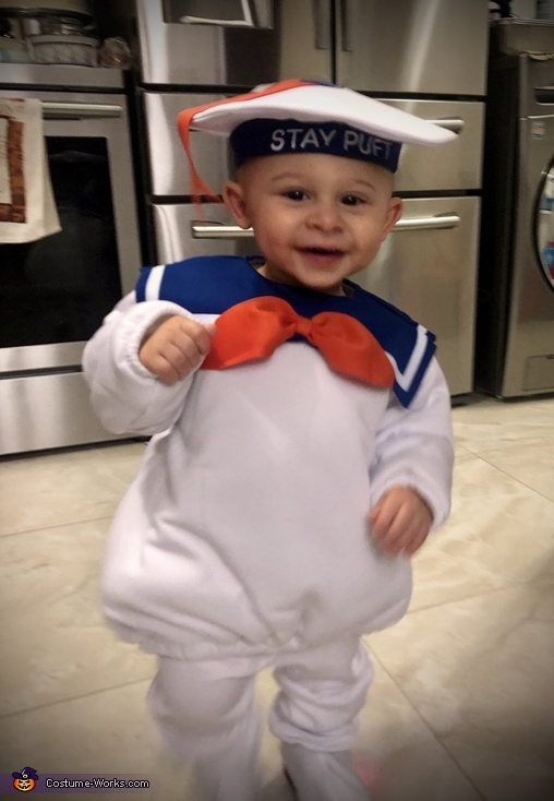 Mikie's Costume #7, Stay-Puft Marshmallow Man Costume