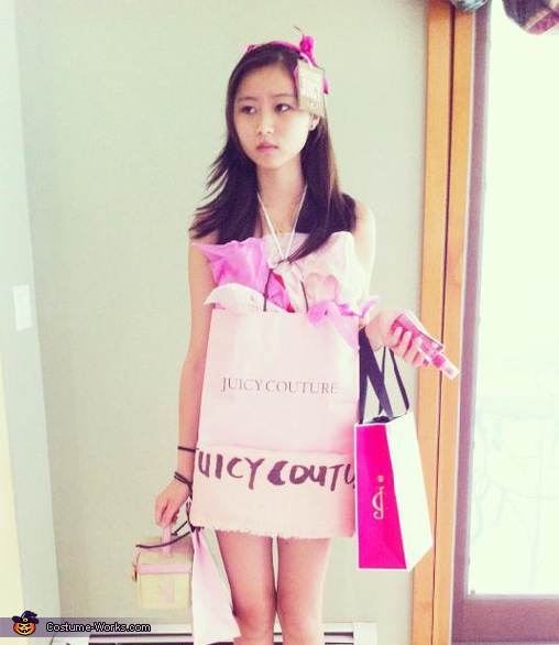 Juicy Couture Shopping Bag Costume