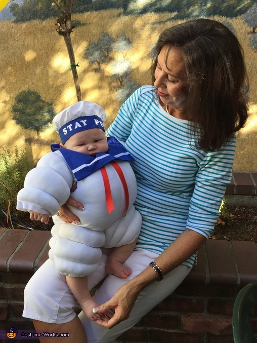 Stay Puff with Gramma, Stay Puff Costume
