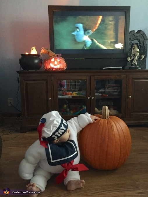 Stay Puft Homemade Costume