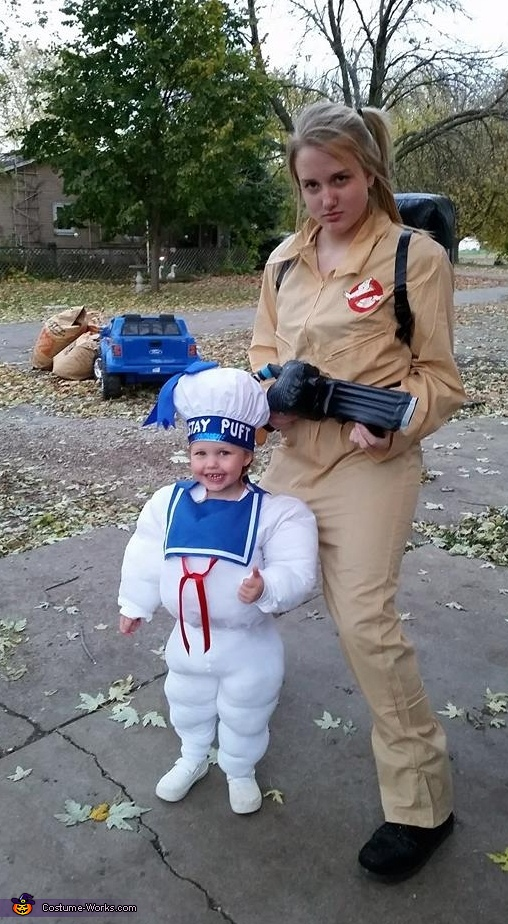 Stay Puft Marshmallow Baby Costume
