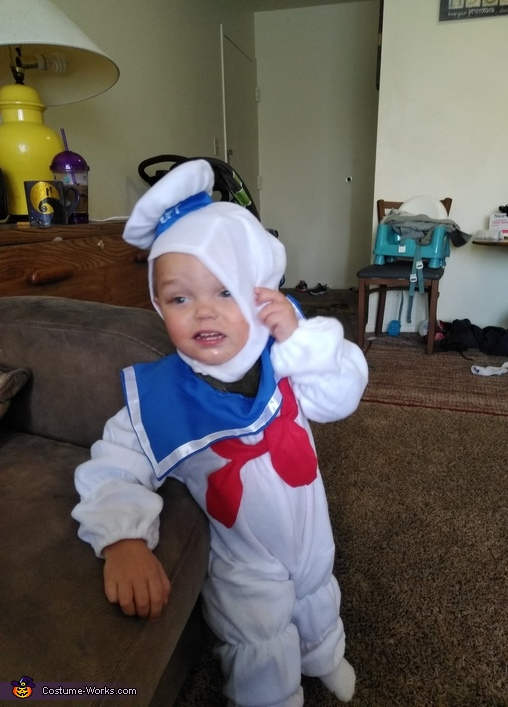 Stay Puft Marshmallow Costume
