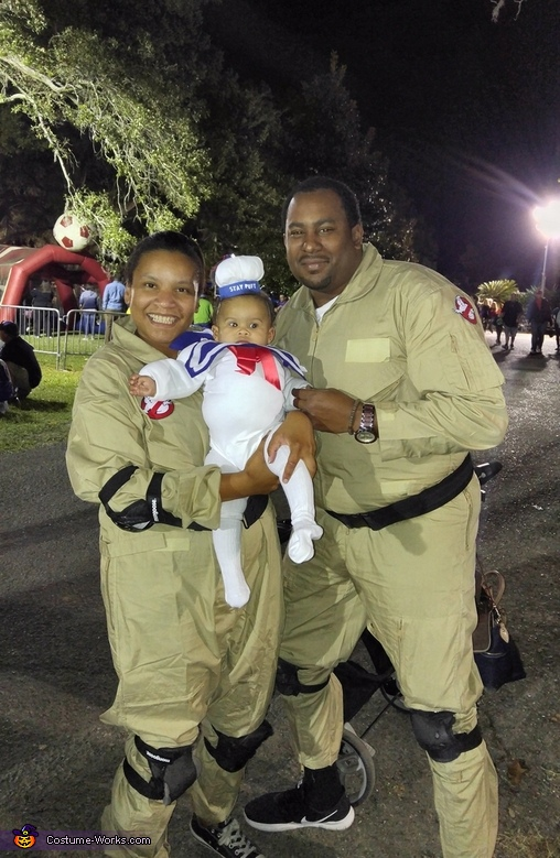 Stay Puft Marshmallow and Ghostbusters Cast Costume