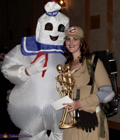 Stay Puft Marshmallow Man & Ghostbuster Costume