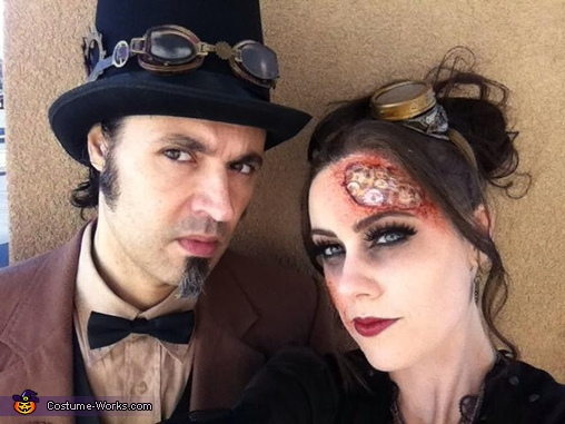 The Creator and I, Steam-powered Girl and her Creator Costume