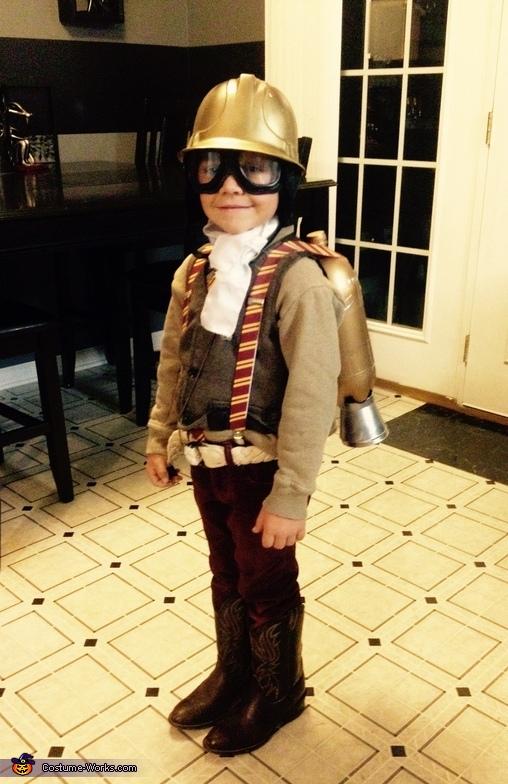Steampunk Airship Operator Costume