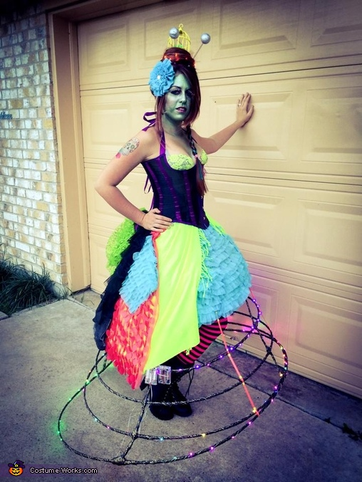Steampunk Alien Invasion Homemade Costume