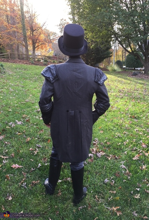 back view, Steampunk Civilian Costume