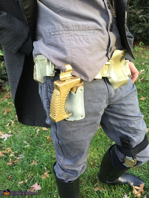 gun and holster, Steampunk Civilian Costume