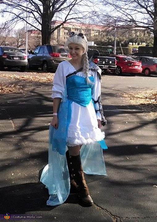 Steampunk Elsa Costume