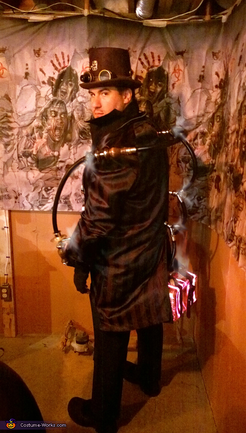 Steampunk Furnace Bottom Costume