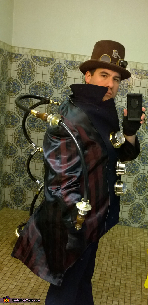 Steampunk Furnace Bottom Homemade Costume