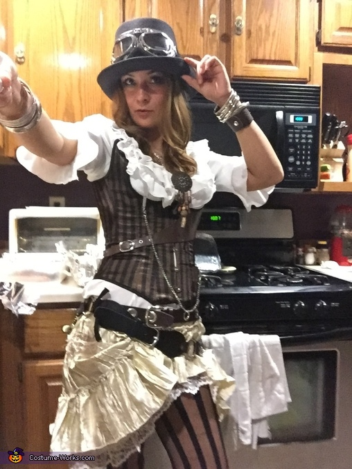 Steampunk Girl Homemade Costume
