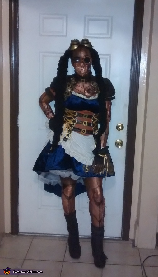 Steampunk Killer Cyborg Costume