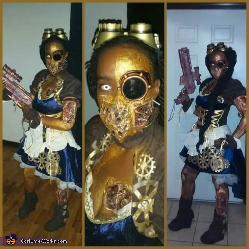 Steampunk Killer Cyborg Homemade Costume