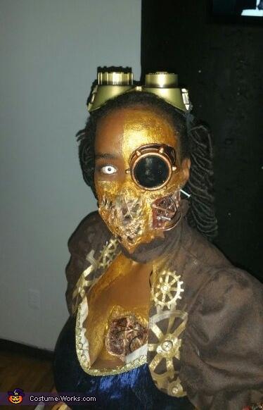 Steampunk Killer Cyborg Homemade Costume