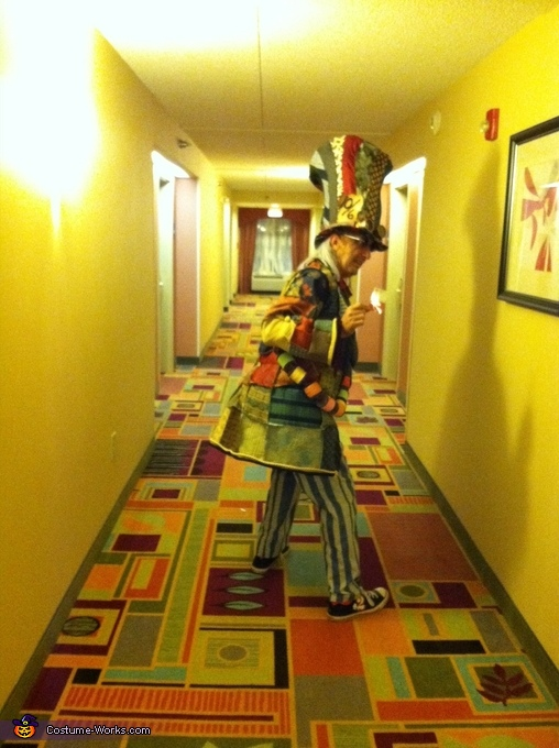 Dancing Hatter, Steampunk Mad Hatter & White Rabbit Costume