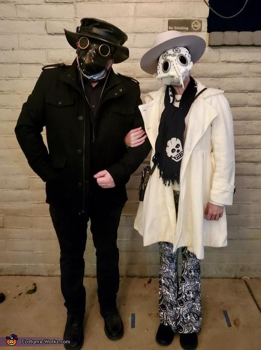 Steampunk Plague Doctors Costume