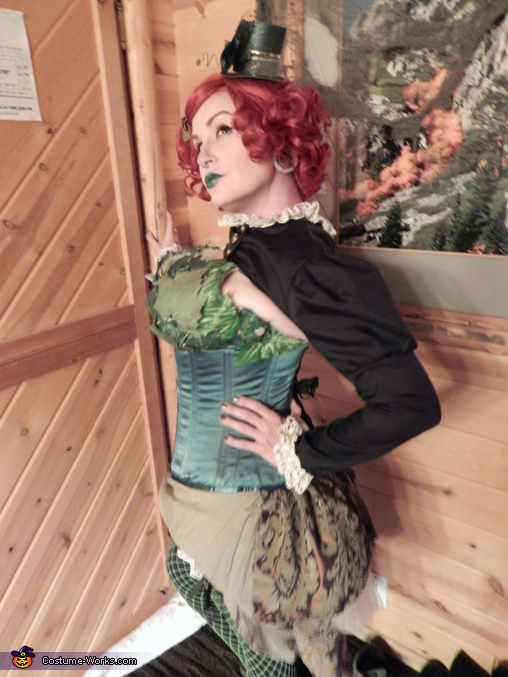 Steampunk Poison Ivy Costume