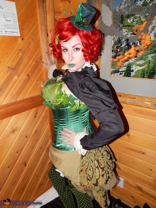 Steampunk Poison Ivy Homemade Costume