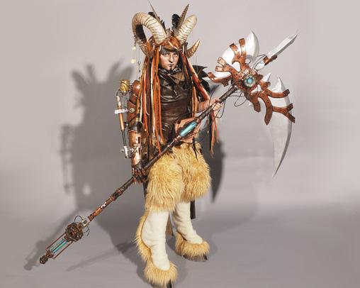 Steampunk Satyr Costume
