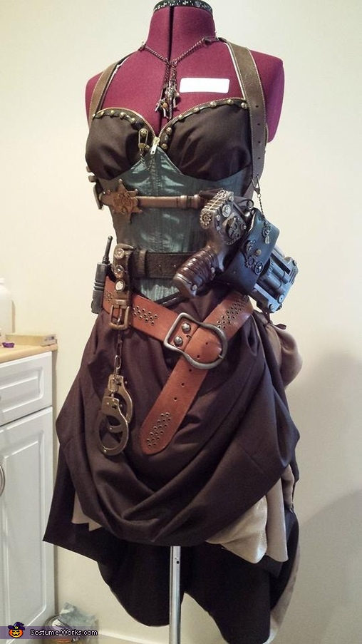 Steampunk Sheriff Costume