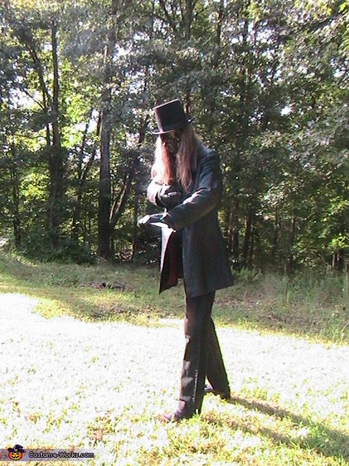 Steampunk Spy Homemade Costume