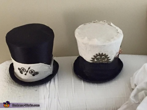 Picture of the Hats, Steampunk Spy Vs. Spy Costume
