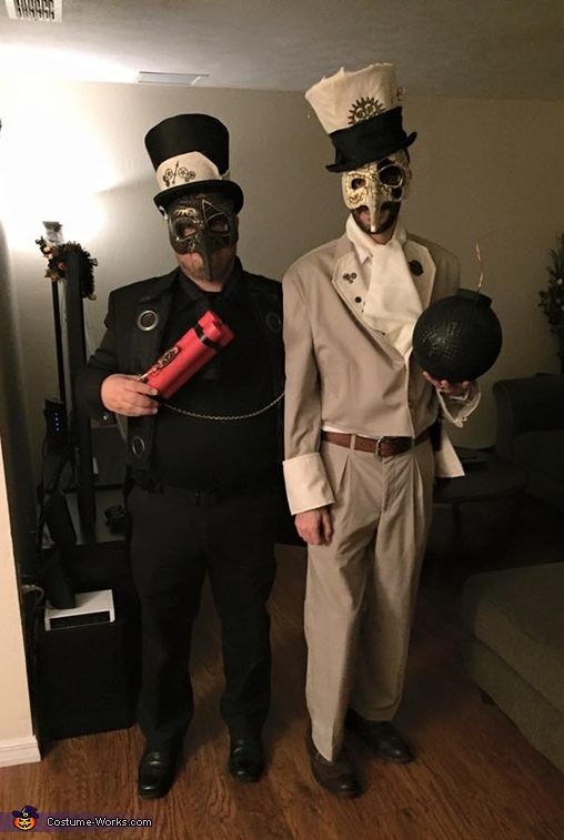 Steampunk Spy Vs. Spy Costume